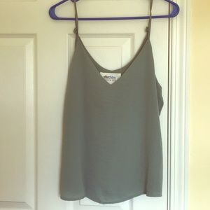 Sole Society green/gray cami